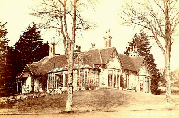 Picture of Woodside House Circa 1900