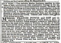 Oaklawn from the Times 15th May 1871