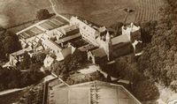Aerial view of Abbey circa 1930