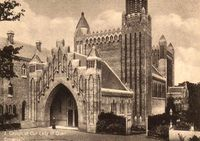 Church of our Lady, entrance circa 1930