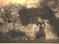 Quarr, ruins of the Infirmary Chapel circa 1916