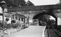 Wootton Station circa 1950