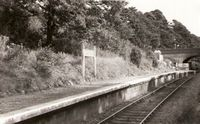 Wootton Station 1950s