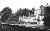 Wootton Station circa 1953