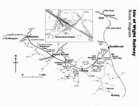 Route diagram [IOW Steam Railway]