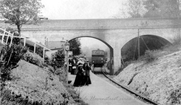 Picture of Wootton Station 1907