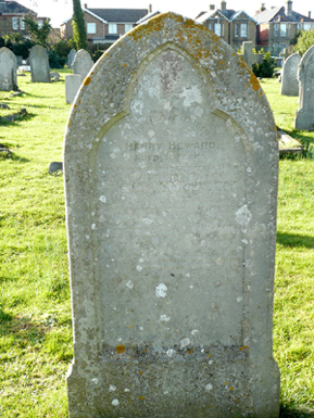 Picture of the Grave of Henry Heward, Ryde Cemetery