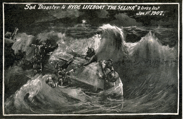 Picture of Pictorial representation of the 1907 disaster