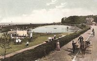 Picture of Ryde Canoe Lake circa 1900