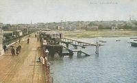 Ryde from the pier circa 1890