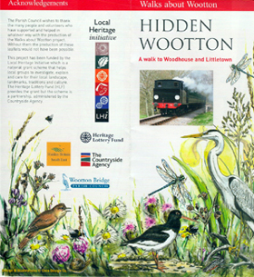Wootton Walk leaflet