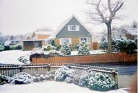 Snow in Wootton 2001