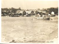 Snow 1954, Wootton Creek Icebound