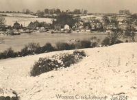 Wootton Creek Icebound 1954