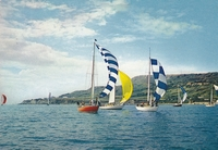 Yacht racing of St Catherines Point