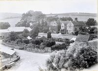 Aerial view of Arreton Manor c.1930