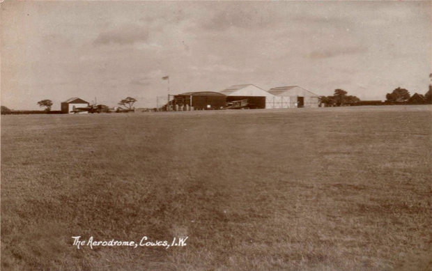 Picture of Somerton Aerodrome, early 1930's