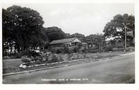 Fishbourne Cafe & Camping site 1950 [Towill]