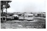 Fishbourne Cafe & caravan site 1957 [Towill]
