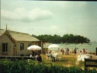 The Boathouse Fishbourne beach circa 1970