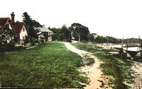 Fishbourne Beach circa 1910