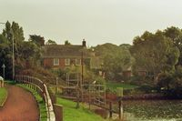 The sluice gate & Bridge House 2007