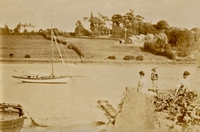Fernhill House from Kite Hill c1900