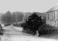 Bottom of Kite Hill approaching Wootton circa 1900
