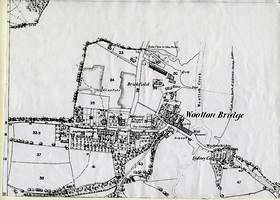 Map of Wootton 1865