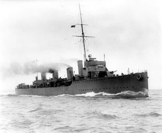 Picture of H.M.S. Botha built at J S Whites