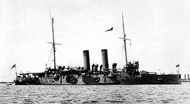 Picture of HMS Hawke