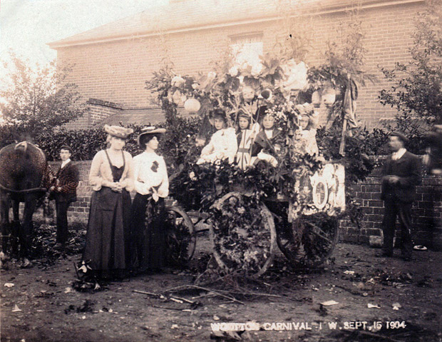 Picture of Wootton Carnival 15th September, 1904