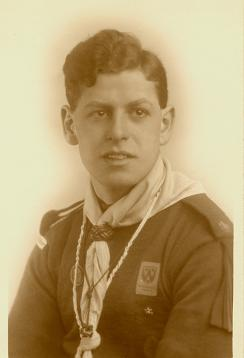 Picture of Dr. Kennedy Picture courtesy of the Isle of Wight Scout Council