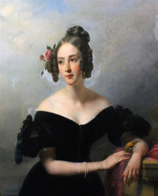 Picture of Sir Thomas John Cochrane's daughter Maria Theresa
