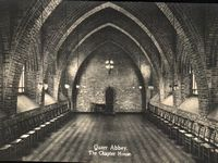 Quarr Abbey, The Chapter House circa 1930