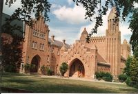 Modern Quarr Abbey [Benedictine]