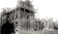 Quarr Abbey rebuilding