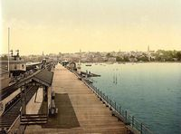 View from Ryde Pier circa 1910