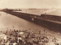 The Pier and sands, Ryde