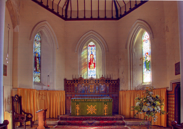 The Alter Holy Trinity Church Ryde