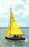 Bermudan sloop 'Oxey Bird'