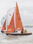 Squibs Off Cowes by Peter Mumford